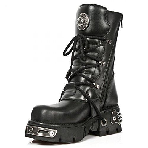 New Rock Boots M.391mt-c1 Gotico Hardrock Punk Unisex Stiefel Schwarz