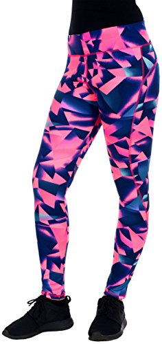 AFC Women's Colorful Yoga Pants One Size Fits Most (I)