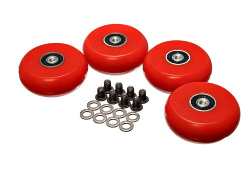 Energy Suspension 9.9171R 2-3/8'' /60mm Creeper Wheel - Set of 4 by Energy Suspension