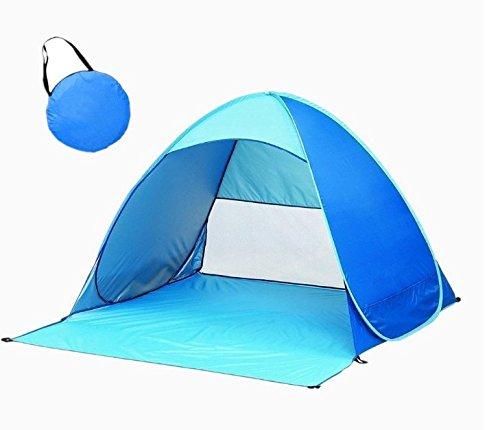 キャンプ浜テント屋外の防水 さえぎる(50倍)日光 空気循環流通 軽便ビーチテント リュックサックの砂浜を伞 テント屋外ガーデン