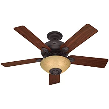Swiss gold finish reiker room conditioner thermostatic remote hunter 21894 52 inch westover heater fan aloadofball Choice Image