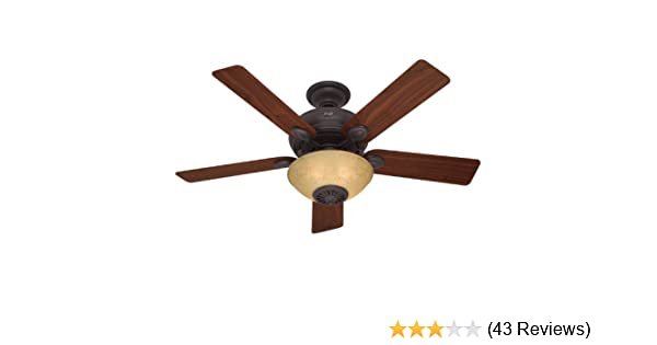 Hunter 21894 52 inch westover heater fan ceiling fans amazon mozeypictures Gallery