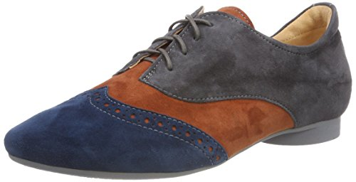 21 kombi Femme vulcano Brogues 282979 Gris Think Guad qY6040