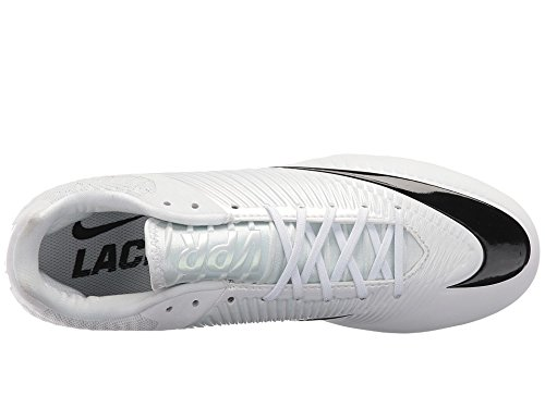 Nike Ånga Hastighet 2 Slappa Vita Mens Skostorlek 10,5