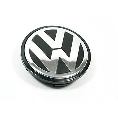 SQKJ for Volkswagen Caddy,EOS,Golf,Jetta,Passat CC,Phaeton,Scirocco,Sharan,Tiguan,Touran,Transporter 65MM Hubcap Wheel Center Cap - Part Number 3B7-601-171 (1 Piece): Automotive