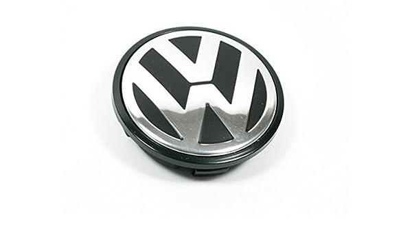 sqkj para Volkswagen Caddy, EOS, Golf, Jetta, Passat CC, Phaeton, Scirocco, Sharan, Tiguan, Touran, Transporter 65 mm Rueda Centro Tapacubos Cap - Número de ...