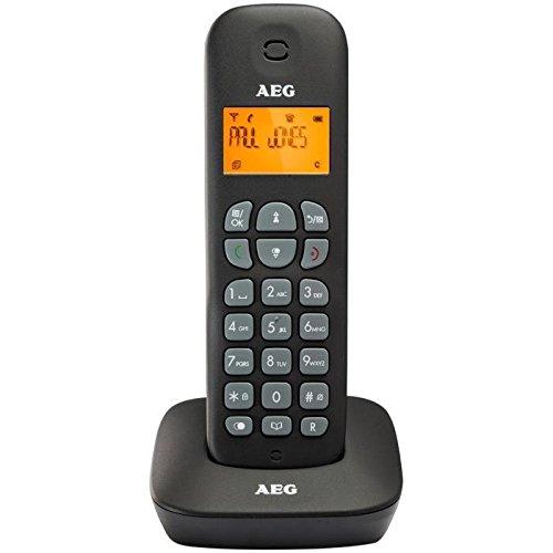 AEG D130 Té lé phone Fixe Noir SOPEG TA6523201B
