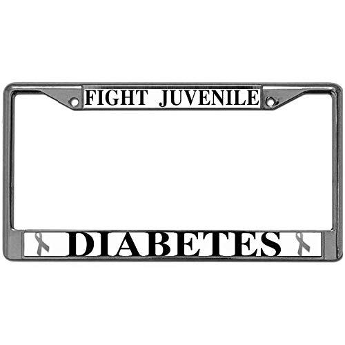 diabetes license plate frame - 3