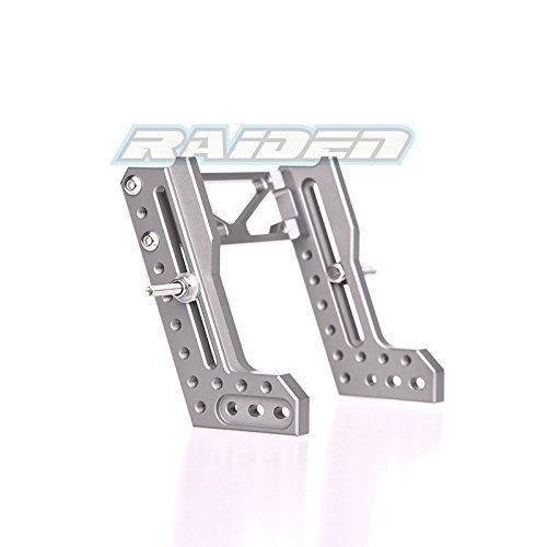 Body Aluminum Shock (Wraith 90020 90018 90031 90045 90056 Aluminum Bracket Rear Dual Damper Upper Shock Mount 2pcs)