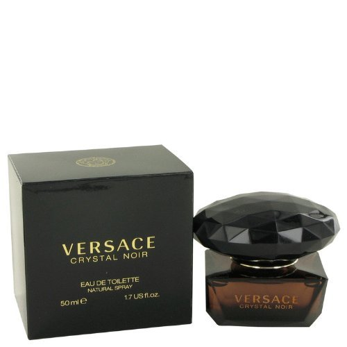 (Versace Crystal Noir by Versace Eau De Toilette Spray 1.7 oz)