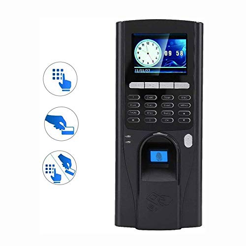 ROLL Attendance Machine, Fingerprint Password Attendance Machine,Employee Management Alarm Clock,DC5V, 2.8inches TFT LCD Screen (Difference Between Identification And Verification In Biometrics)