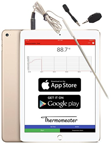 THERMOMEATER: Batteryless Oven-Safe WiFi-Bluetooth Wireless