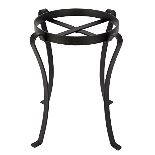 Stand Iron Wrought (Achla Designs Patio Flower Pot Plant Stand, 18-in H)