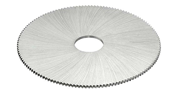 TiN Coating 2-1//2 Cutting Diameter HSS KEO Milling 15027 Jewelers Saw 0.020 Width 1//2 Arbor Hole 1490 Style 190 Teeth