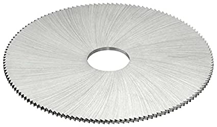 TiCN Coating 2 Cutting Diameter KEO Milling 81140 Jewelers Saw 150 Teeth 1490 Style HSS 0.016 Width 1//2 Arbor Hole
