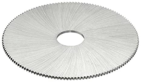 0.018 Width KEO Milling 14948 Jewelers Saw 1490 Style 1//2 Arbor Hole 1-1//2 Cutting Diameter 110 Teeth Uncoated Coating HSS