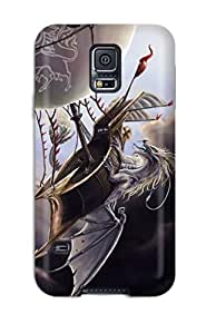 High Quality Shock Absorbing Case For Galaxy S5-dragon Fantasy Abstract Fantasy
