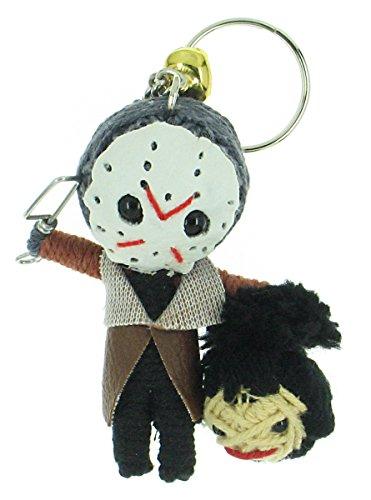Jason Friday 13th Voodoo String Doll Keyring Keychain for $<!--$4.00-->