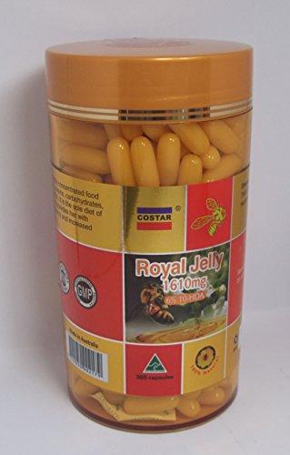 Costar Royal Jelly 1610mg 365 Capsules Australian (Royal Jelly Fertility)