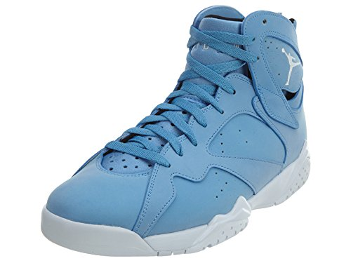 Jordan Men's Air 7 Retro, University Blue/White-White-Black, 14 M US by Jordan