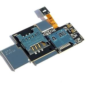 Samsung Galaxy Note SGH-i717 I717 SIM & SD Card Tray slot Flex Cable Memory Holder MicroSD Card Slot Reader & Sim Card Tray Holder Socket Connector Flex Cable Replacement For Samsung Galaxy Note SGH-i717 i717 With Free Tools
