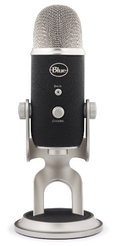 Blue 1967 Yeti Pro USB Condenser Microphone, Multipattern