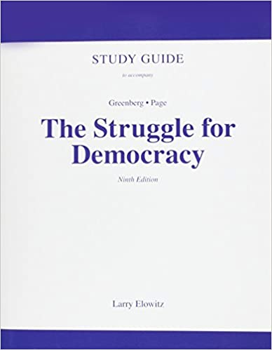 Struggle for democracy, the, books a la carte plus mypoliscilab.