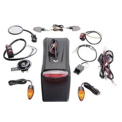 Tusk Enduro Street Legal Lighting/Horn/Mirror/Signals Kit - HONDA CRF250X CRF450X 2004-2018