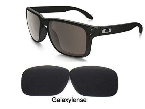 Galaxy Replacement lenses For Oakley Holbrook Polarized Black 100% - Polarized Holbrook Lenses