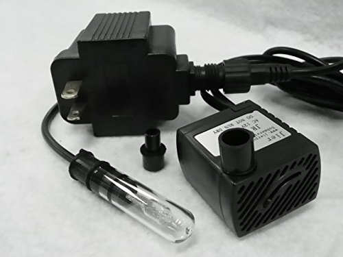 66 gph apjr250l american pond small fountain pump with 10 for Small pond pumps for sale