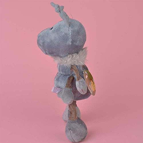 N/D Juguete de Peluche 30Cm Color Gris Hormiga de Peluche de Peluche Lindo Regalo de bebé/niño Muñeca de Peluche Regalo de cumpleaños