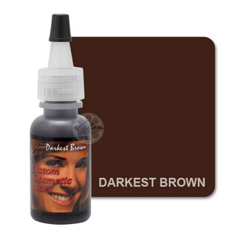 Price comparison product image Darkest Brown EYELINER Permanent Makeup Pigment Cosmetic Tattoo Ink 1/2