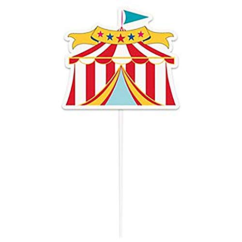 Rimi Hanger Circus Carnival Fancy Cake Topper Birthday