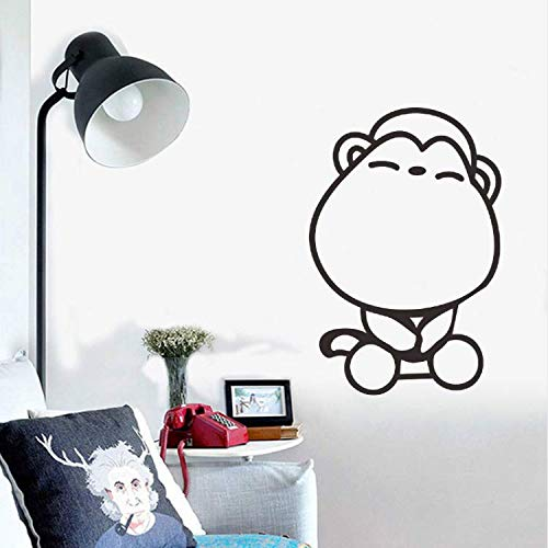 BEIKE Wall Sticker for Kids Rooms Bathroom Bedroom Home Decoration Decals Art Animal Toilet Stickers Wallpaper