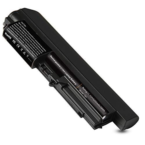 6Cells Li-ion Laptop Battery for IBM/Lenovo ThinkPad R61i R61e R61 R60e R60 R500 T500 W500 Series - Widescreen - High ()