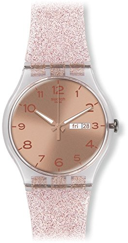 swatch-unisex-suok703-pink-glistar-watch-with-sparkling-band