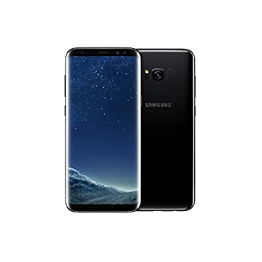Samsung Galaxy S8 64GB GSM Unlocked Phone International Version (Midnight Black)