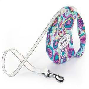 Flexi Fashion Series - Paisley, COMPACT 1, Small 26 lbs, 10 FT (FL-07145) -
