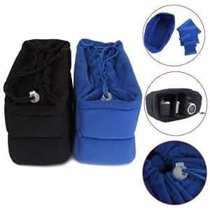 26 x 15 x 12 cm bolso camera inserto len proteger partición caso paquete de bolsa acolchada para SLR DSLR