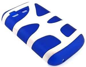 Nuevo!! Funda / Carcasa de Goma / Gel para SAMSUNG C3222 / Chat 322 / Ch@t 322 Duos, Azul