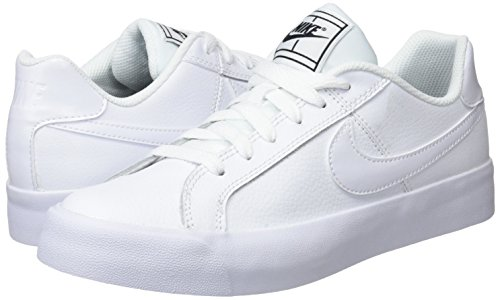 Bianco white Royale Donna black Da Scarpe Court Wmns Ginnastica 102 white Nike Ac qSfvE8