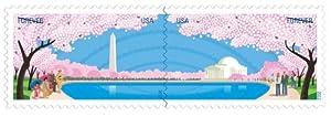 Washington Dc Cherry Blossom Centennial Sheet of Ten Forever Stamps Scott 4651-52
