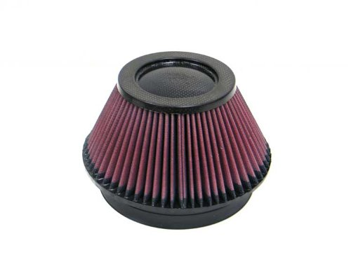 K&N RP-4600 Universal Clamp-On Air Filter: Round Tapered; 6 in (152 mm) Flange ID; 4 in (102 mm) Height; 7.5 in (191 mm) Base; 4.5 in (114 mm) Top