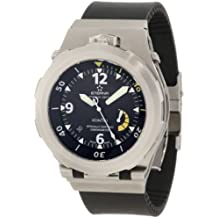 Eterna Watches Men's 'Kontiki Diver' Automatic Stainless Steel and Rubber Sport Watch(Model: 1594.44.40.1154)
