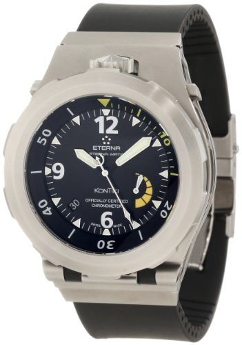 Eterna-Mens-159444401154-Kontiki-Stainless-steel-Diver-Watch