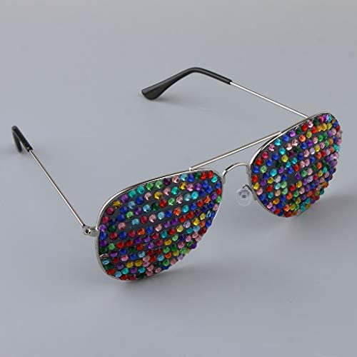 as described 01 F Fityle Novelty Bling Crystal Rhinestone Eyeglasses Funny Party Glasses Accessories