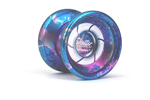 - YoYoFactory Shutter Wide Angle Yoyo Color Galaxy from The Multicolor Collection
