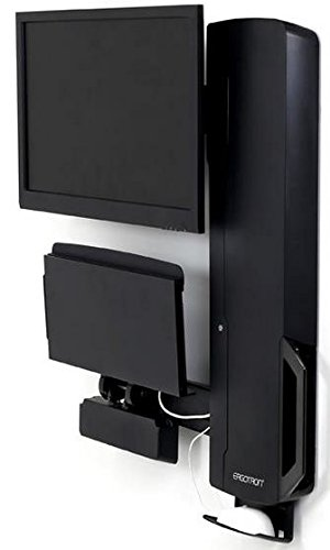 Ergotron StyleView Sit-Stand Vertical Lift 61-081-085