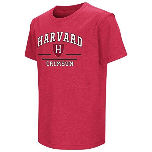 Crimson Youth Fan Gear - Harvard Crimson Youth NCAA Super Fan Short Sleeve T-Shirt - Team Color, Youth Medium