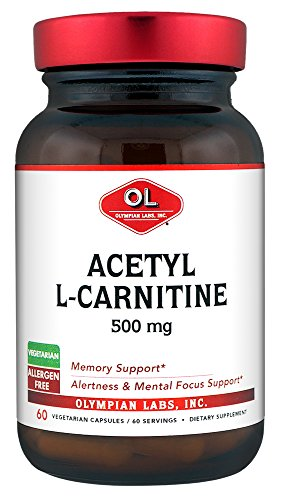 Olympian Labs Acetyl L carnitine, 500mg